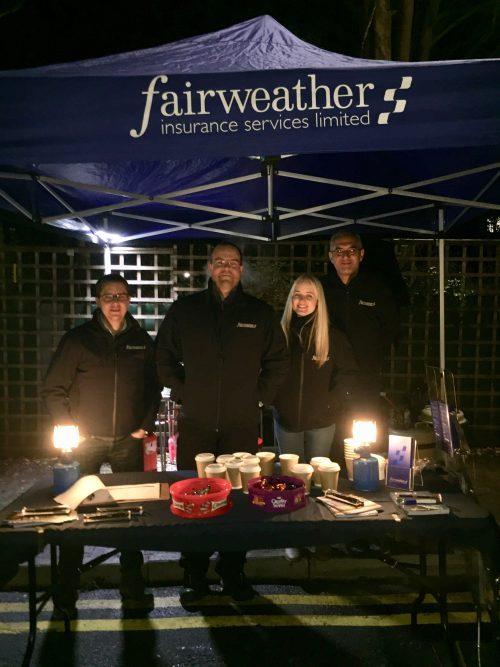 Fairweather Insurance - Chalfont St Peter Fun Night