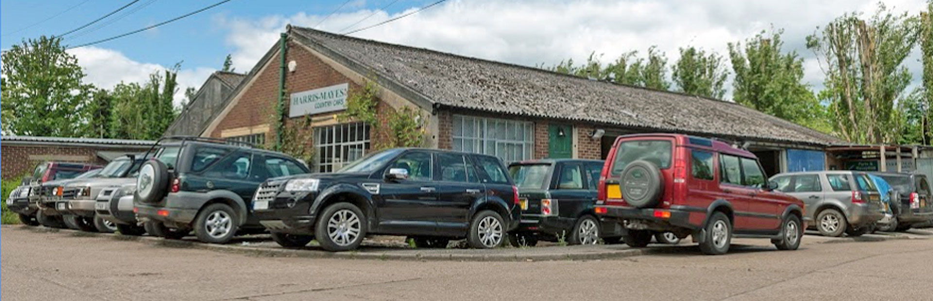 Harris-Mayes Country Cars - Landrover Specialist